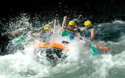 Rafting en el Rio Ésera